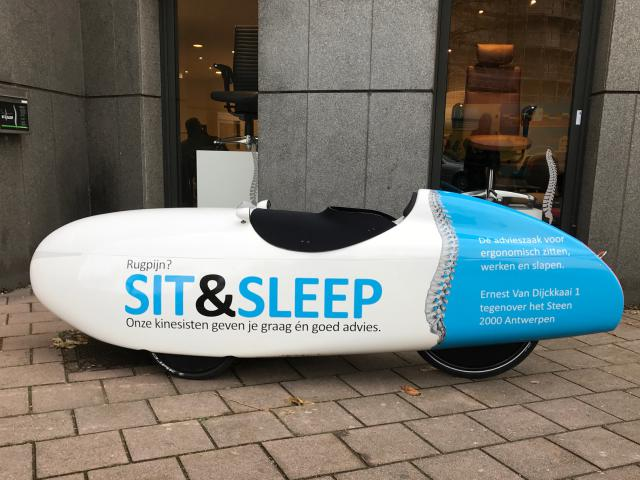 velomobiel quest sit and sleep